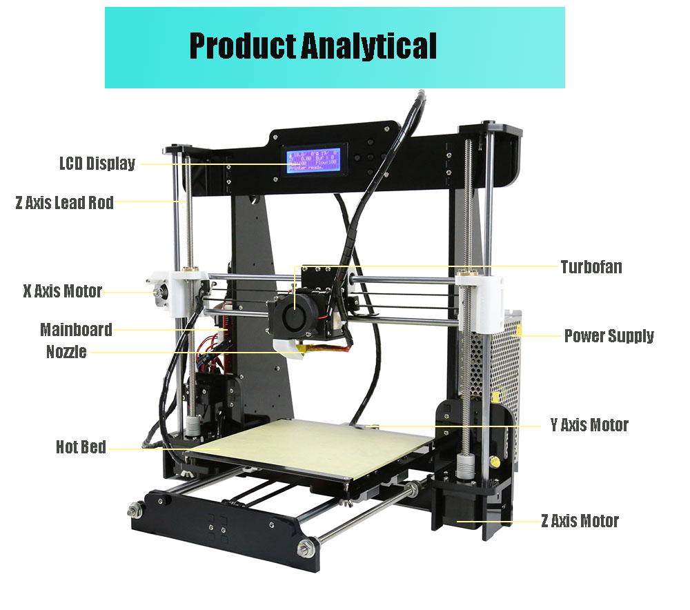 3D принтер Anet A8-4