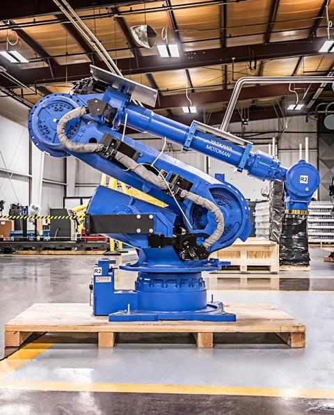 Промышленный робот Motoman ES165D-100-4