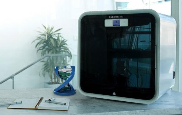 3D принтер CUBEPRO TRIO-4