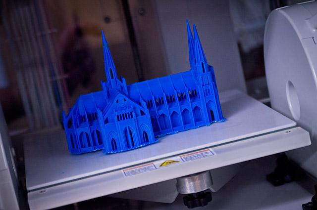 3D принтер CUBEPRO TRIO-2