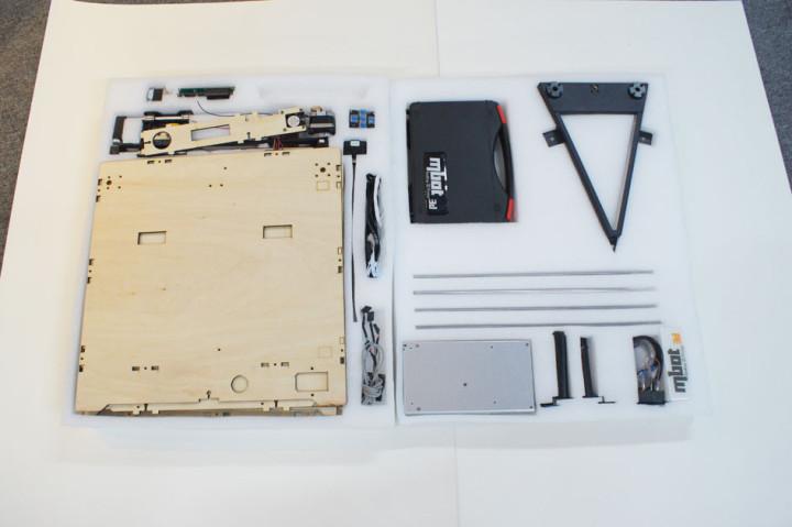3D принтер MBot Cube Plywood DH-6