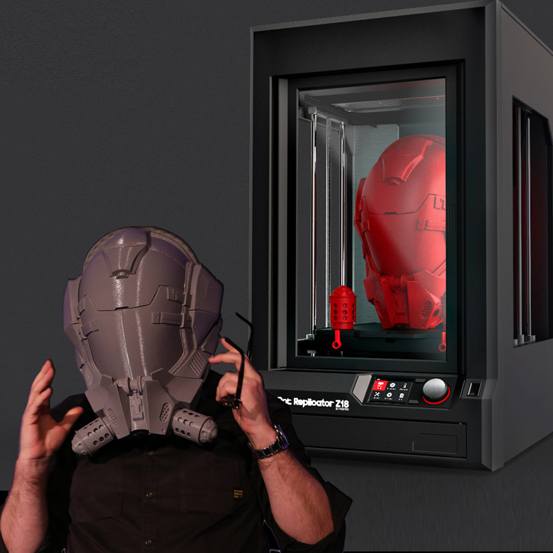 3D принтер MakerBot Replicator Z18-6