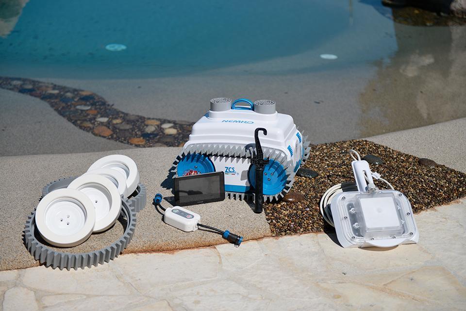 Робот для чистки бассейнов NemH2O Elite-2