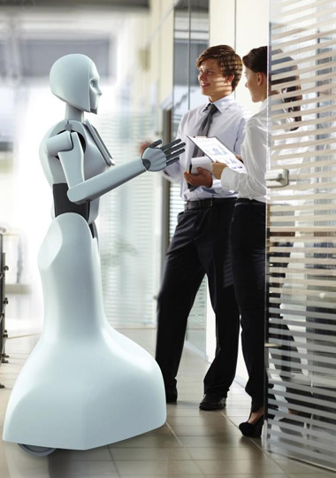 Робот-промоутер Kiki-4