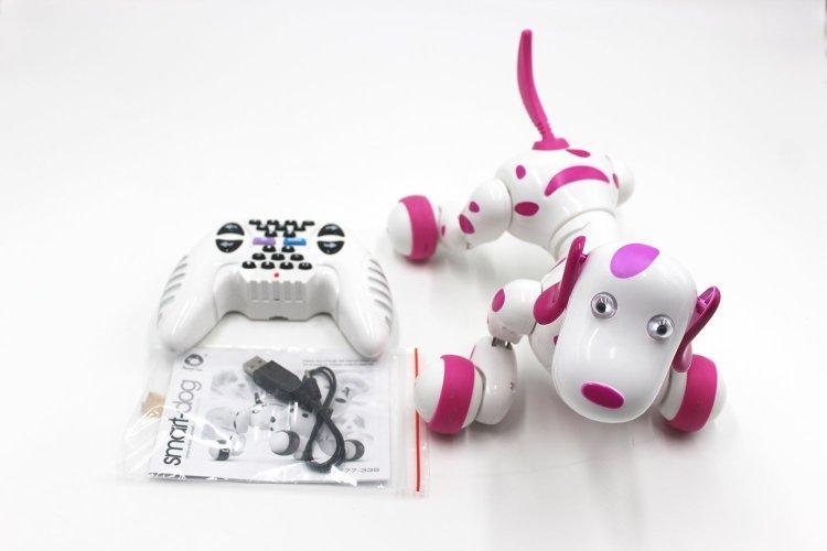 Радиоуправляемая робот-собака HappyCow Smart Dog — 777-338-1