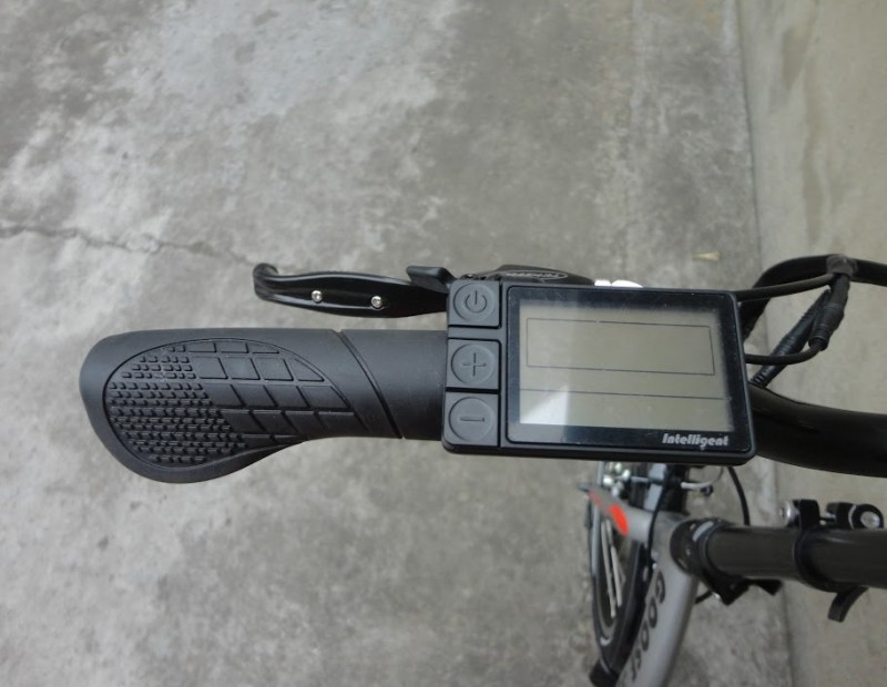 Электровелосипед Volteco goose cardan-6