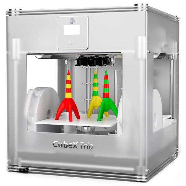 3d принтер cubex trio-4