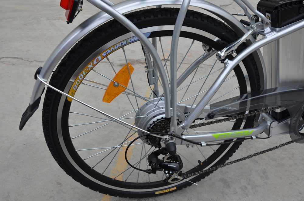 Электровелосипед Ecoffect Citybike 26-3