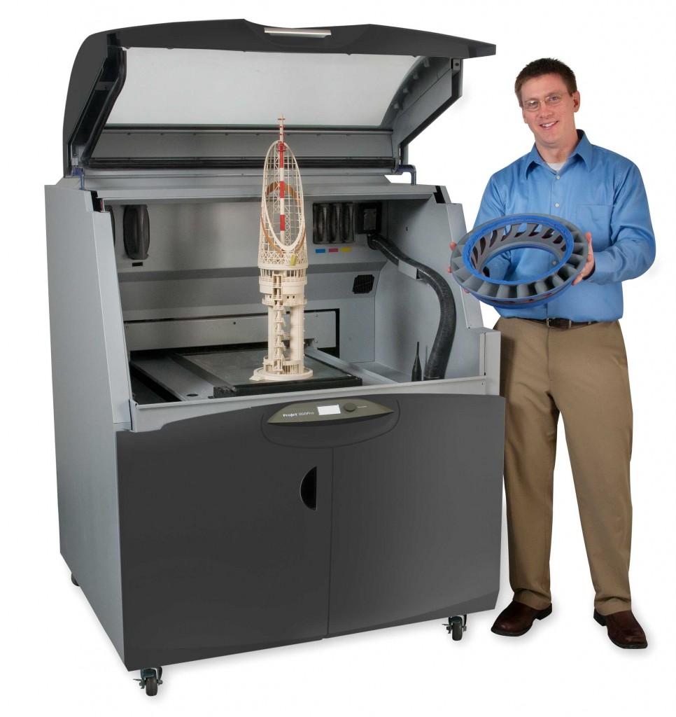 3D Принтер 3D Systems ProJet 860 Pro-1