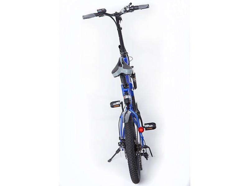Электровелосипед-Велогибрид ECOFFECT F1 PREMIUM-3