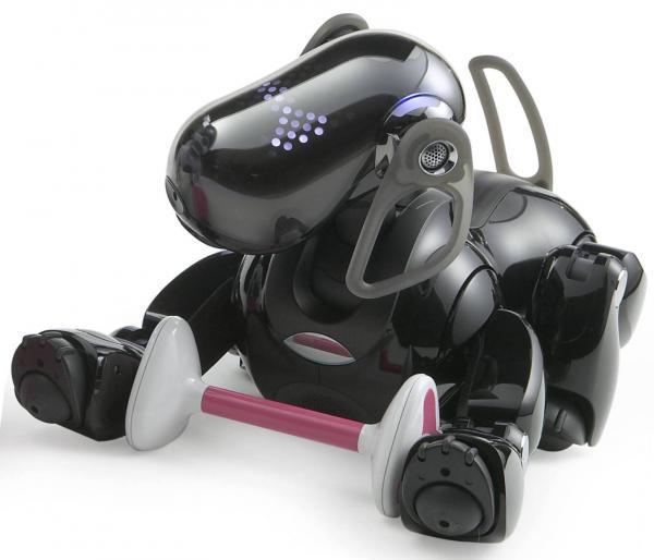 Робот-собака Aibo-3