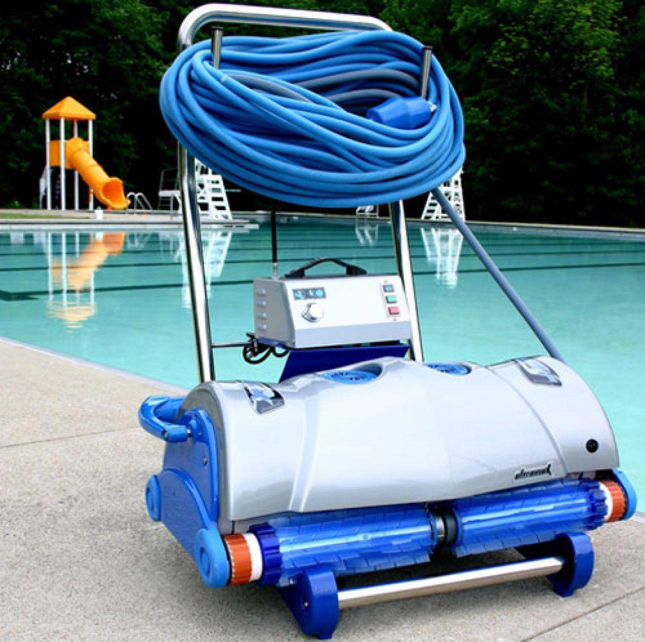 Робот пылесос для бассейна Aquatron Ultramax, с тележкой и кабелем 45м-2