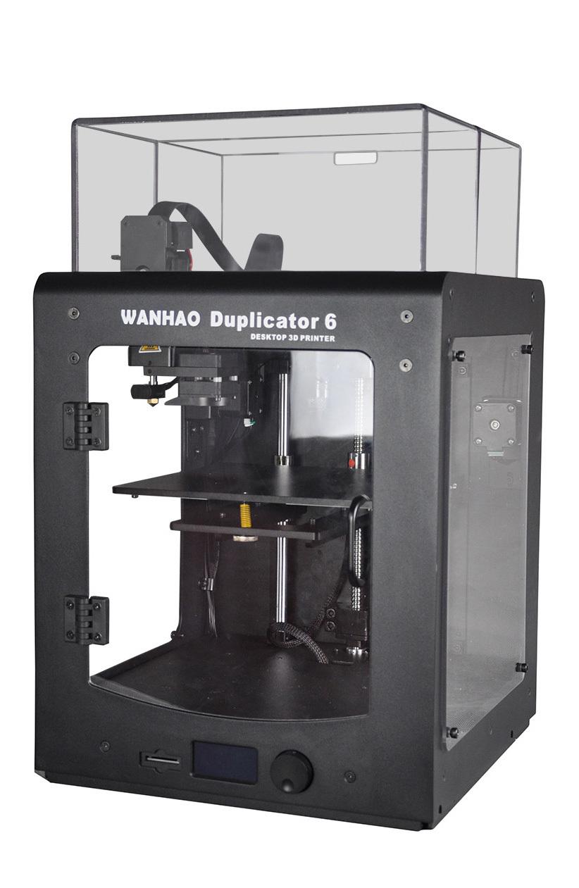 3D принтер Wanhao Duplicator 6 PLUS в корпусе-1