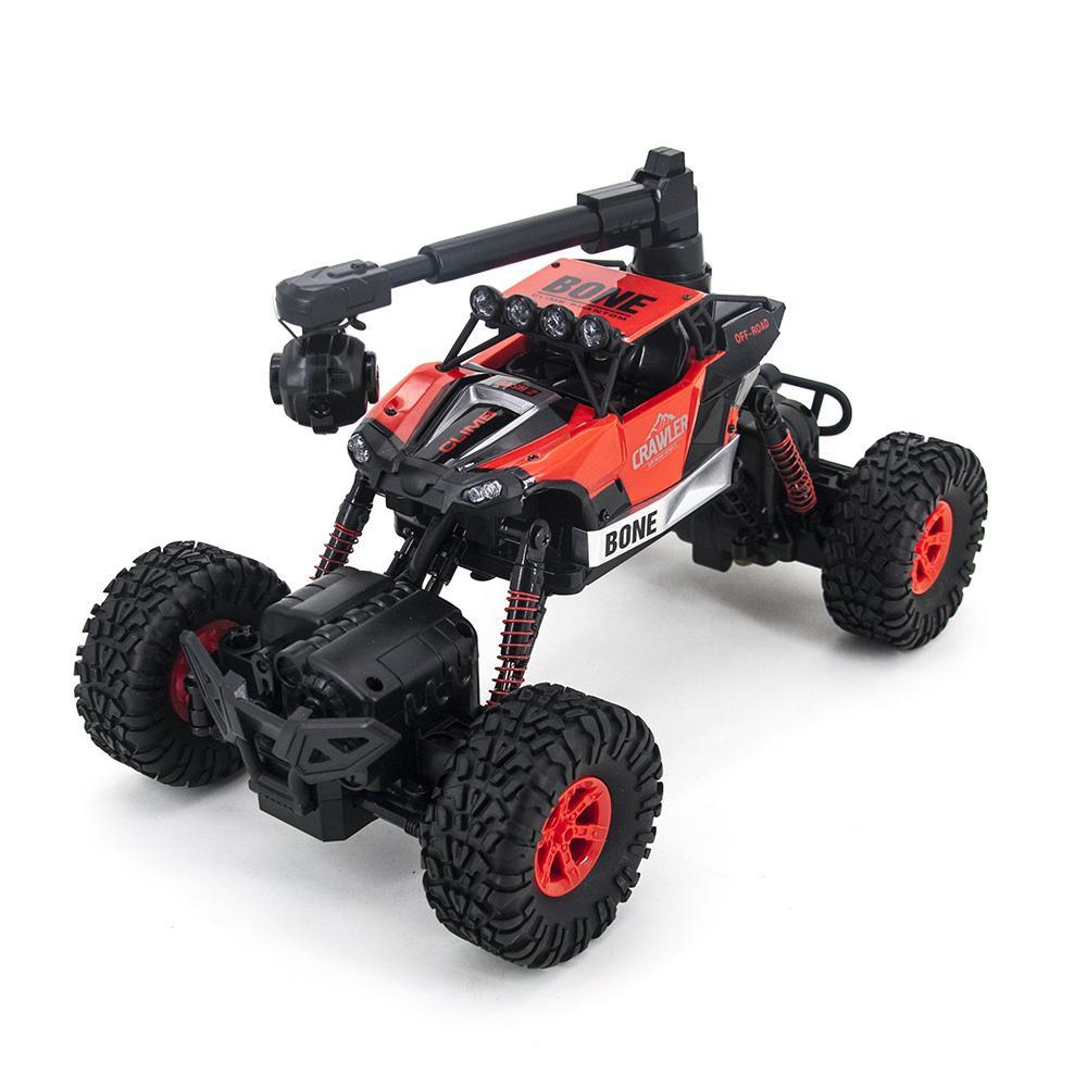 Радиоуправляемый краулер-амфибия Crazon Crawler c WiFi FPV камерой 4WD-4