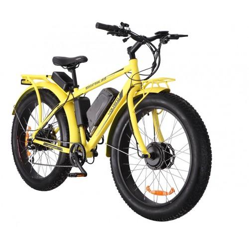 Электровелосипед VOLTECO BIGCAT DUAL YELLOW-1