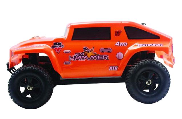 Радиоуправляемый монстр Himoto Hammer 4WD RTR + Ni-Mh маштаб 1:18 E18HM-1