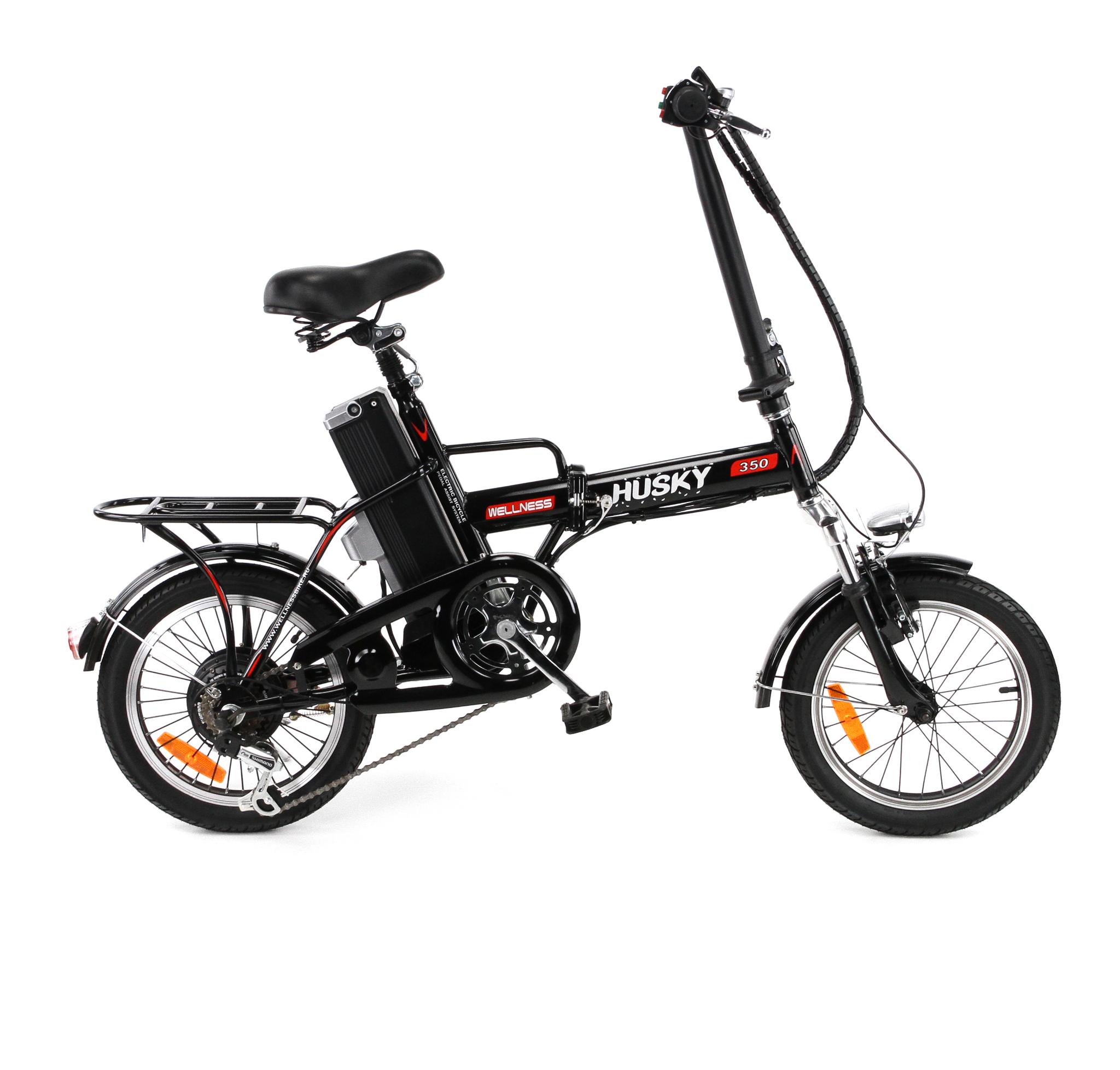Электровелосипед WELLNESS husky 350-5