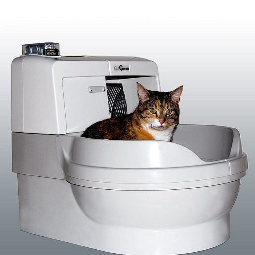 Робот туалет для кошек — CatGenie 120 Full-2