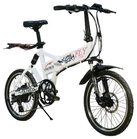 Электровелосипед Volteco Fly 500W-2
