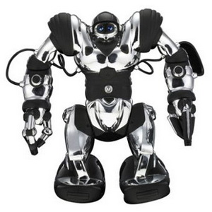 Робот Robosapien (хром)-6