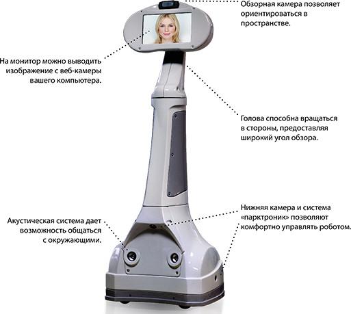 Робот телеприсутствия Webot-1