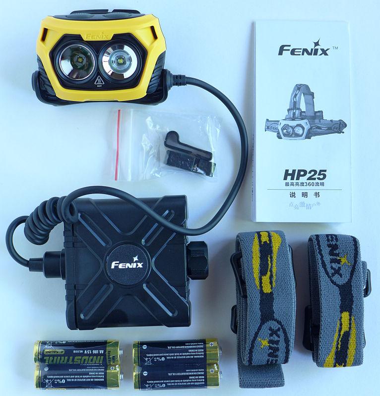Налобный фонарь Fenix HP25-5