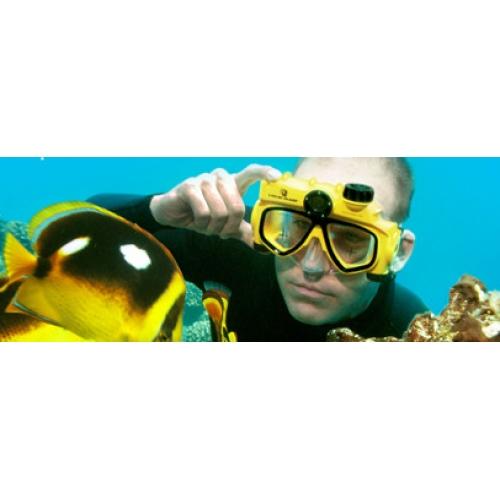 Плавательная маска с цифровой камерой-1