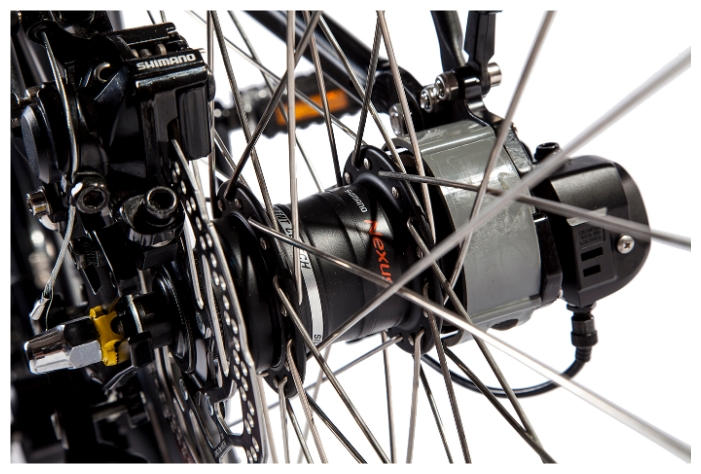 Электровелосипед Eltreco Patrol Кардан 28-4