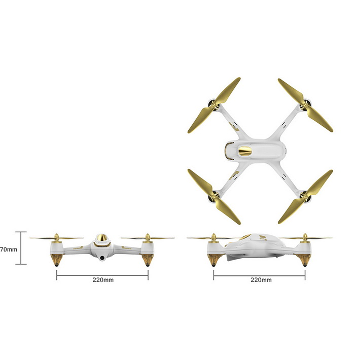 Квадрокоптер Hubsan H501S Pro Brushless High Edition-2
