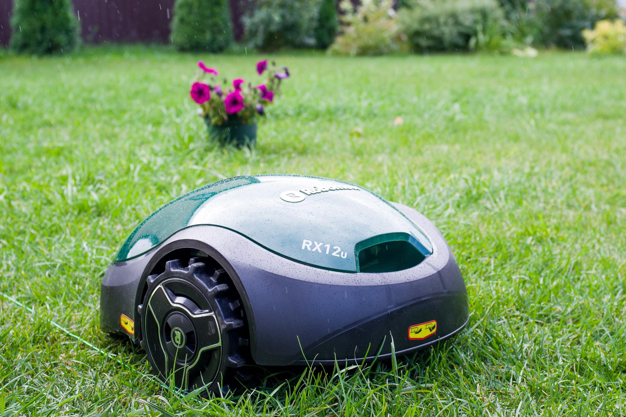Робот-газонокосилка Robomow RX12u-1