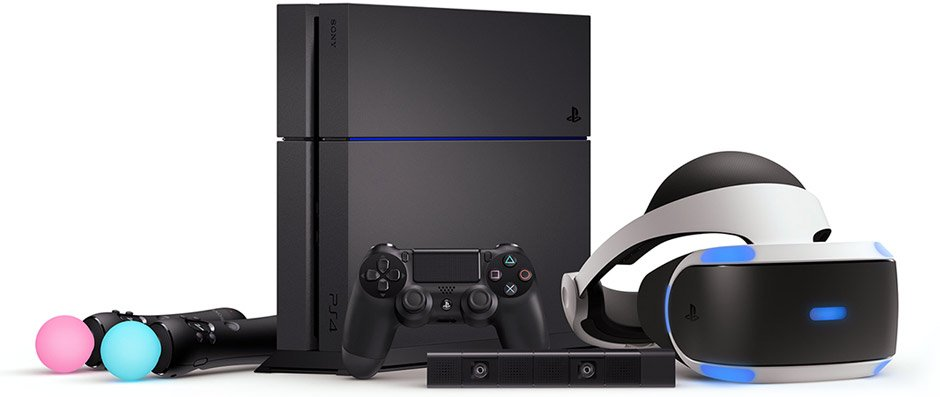 Шлем виртуальной реальности Sony PlayStation VR (CUH-ZVR2) + Camera VR + VR World-1