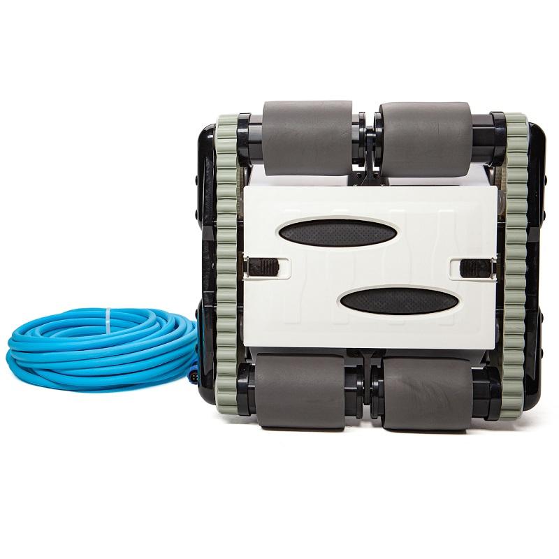 Робот-пылесос HGT Neptun Z-50, насос 18 м3/ч, цикл работы 2 ч, кабель 15 м (дно, стены и линия воды)-2