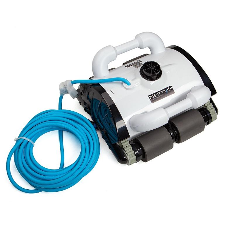 Робот-пылесос HGT Neptun Z-50, насос 18 м3/ч, цикл работы 2 ч, кабель 15 м (дно, стены и линия воды)