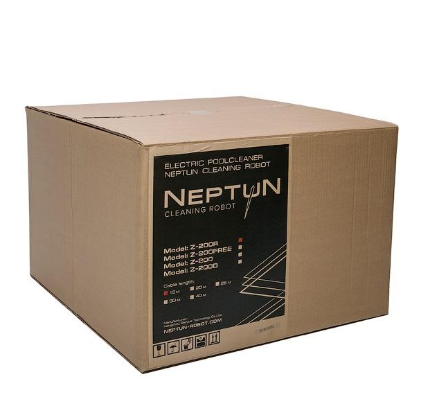Робот-пылесос HGT Neptun Z-50, насос 18 м3/ч, цикл работы 2 ч, кабель 15 м (дно, стены и линия воды)-4