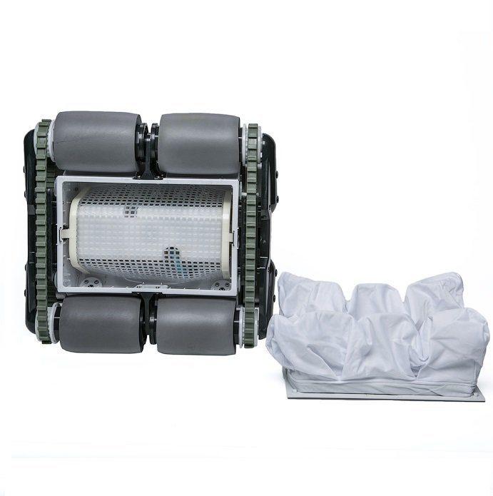 Робот-пылесос HGT Neptun Z-50, насос 18 м3/ч, цикл работы 2 ч, кабель 15 м (дно, стены и линия воды)-3