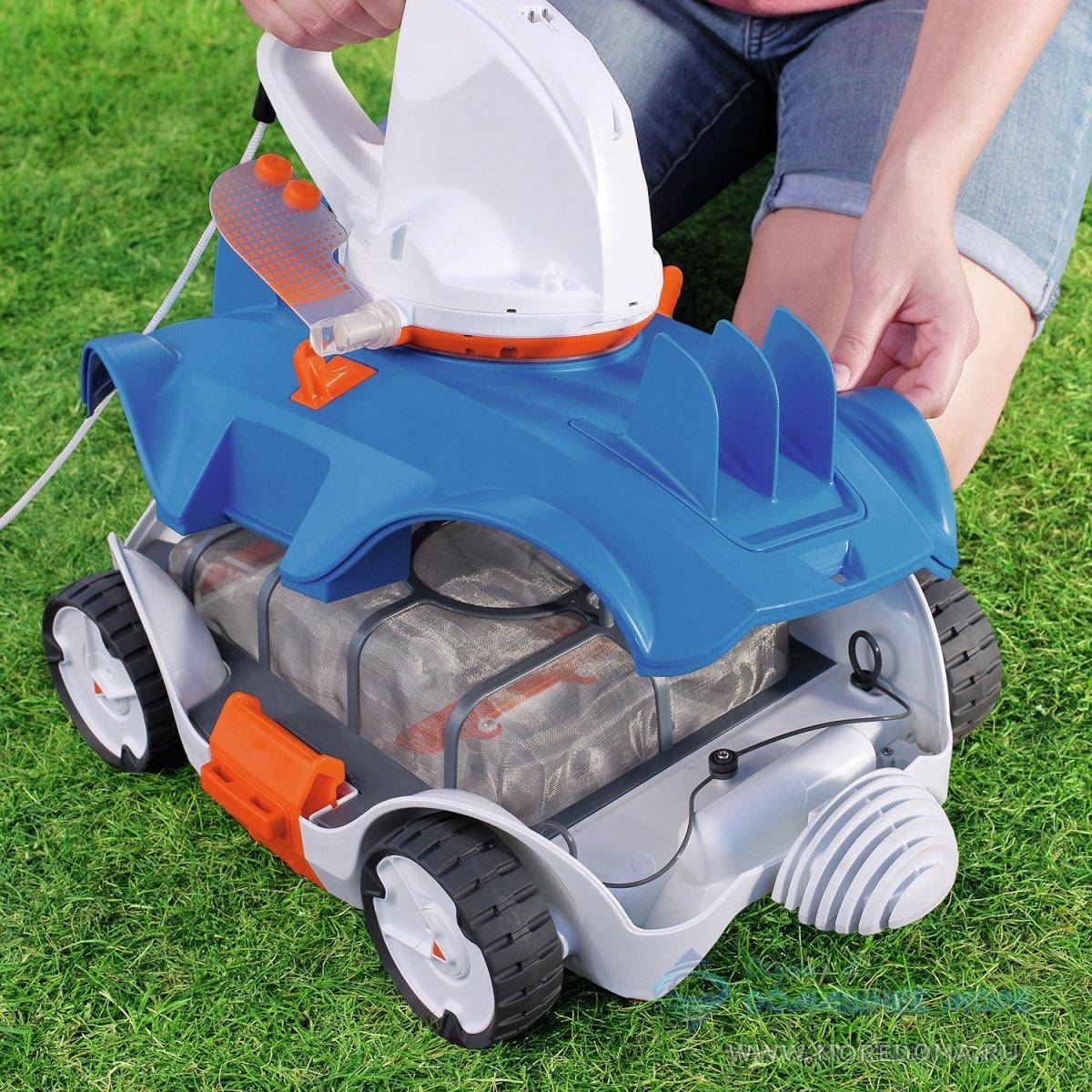 Робот-пылесос беспроводной Bestway Aquatronix-2