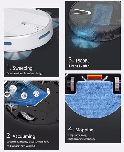 Робот-пылесос M1 Robot Vacuum Cleaner-2