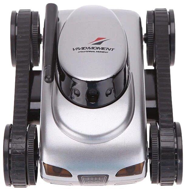 Робот мини танк-шпион Happy Cow I-Spy с камерой WiFi — 777-270 Gray-2