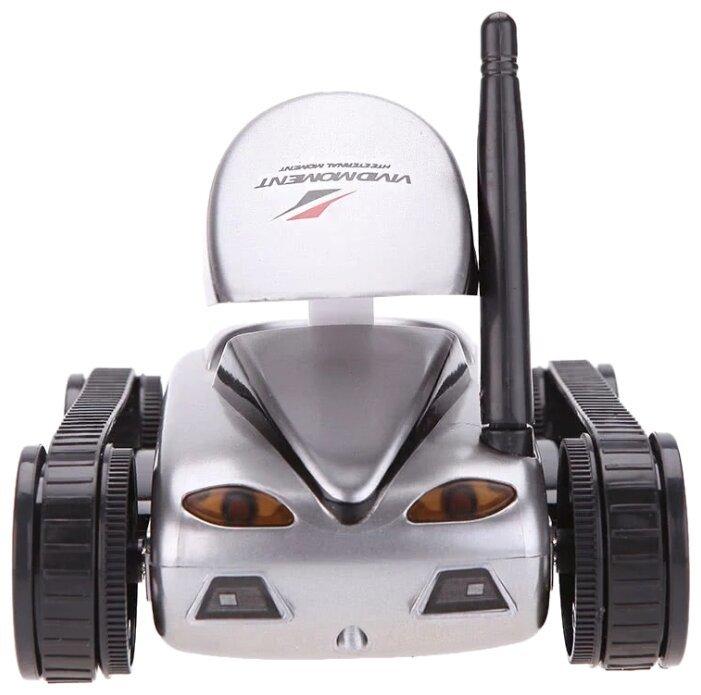 Робот мини танк-шпион Happy Cow I-Spy с камерой WiFi — 777-270 Gray-4