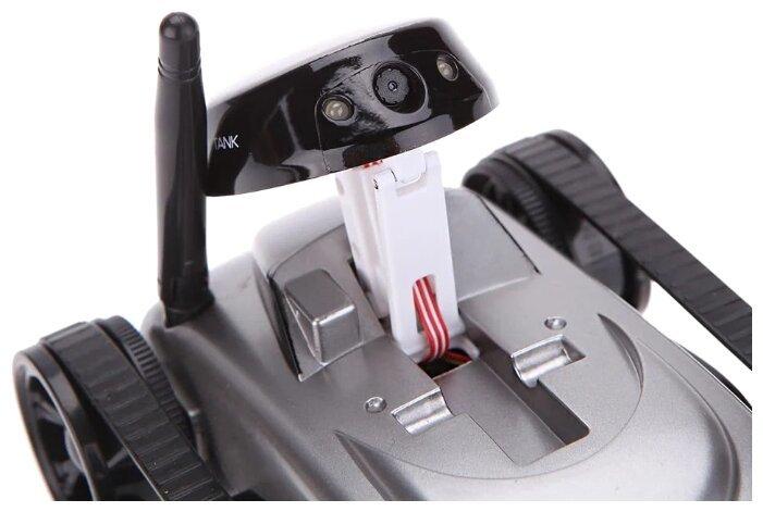 Робот мини танк-шпион Happy Cow I-Spy с камерой WiFi — 777-270 Gray-5