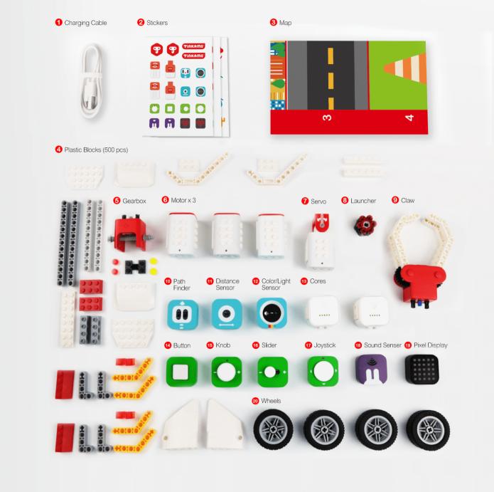 Конструктор Tinkamo Tinker Kit