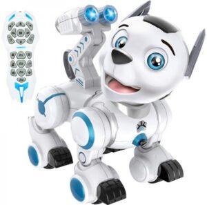 Робот-собака (сенсорные датчики, программируется, свет, звук, лай) — ZYB-B2856