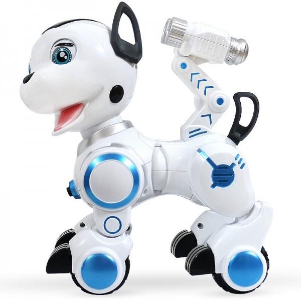Робот-собака (сенсорные датчики, программируется, свет, звук, лай) — ZYB-B2856-2