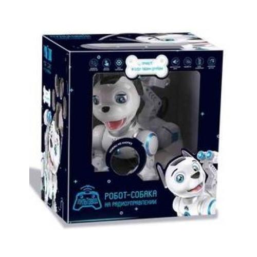 Робот-собака (сенсорные датчики, программируется, свет, звук, лай) — ZYB-B2856-3